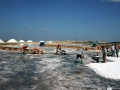 4 Le varie Vasche con gli Arioni di sale