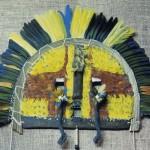 L'arte plumaria degli indios del Brasile