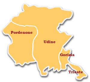Regione Friuli Venezia Giulia Cartina.Friuli Regione Mai Nata Etnie