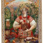 La sagra della primavera nella vecchia Russia