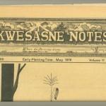"""Akwesasne Notes"", voce degli Indiani d'America"