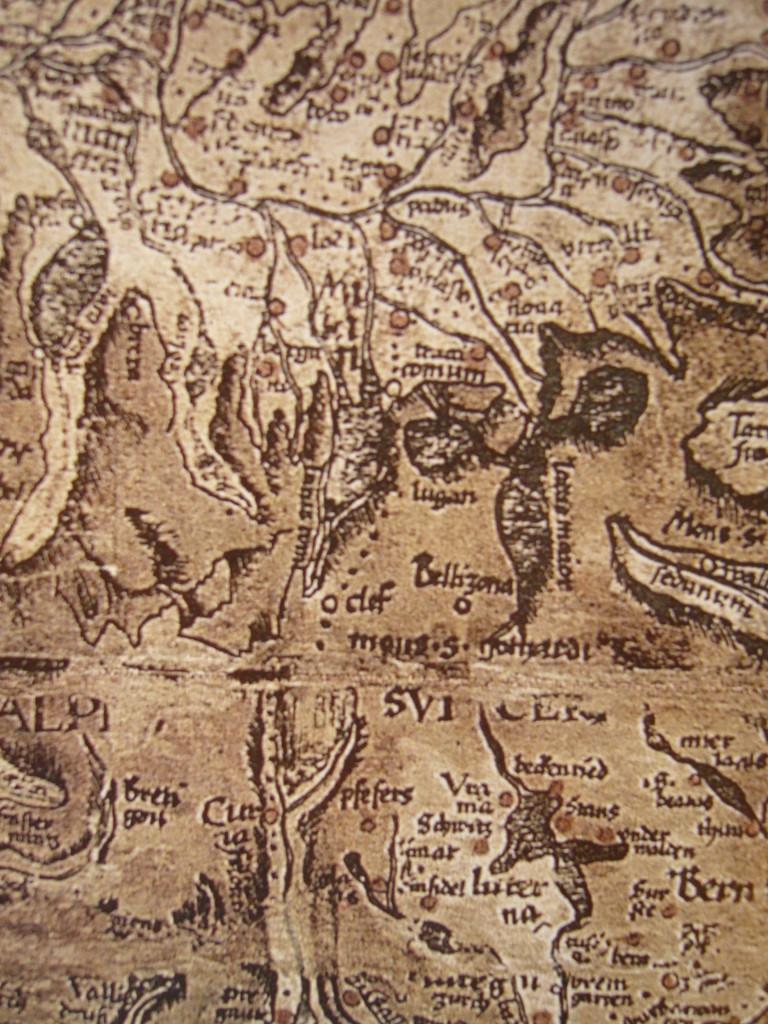 Retia Valtellina carta 1520