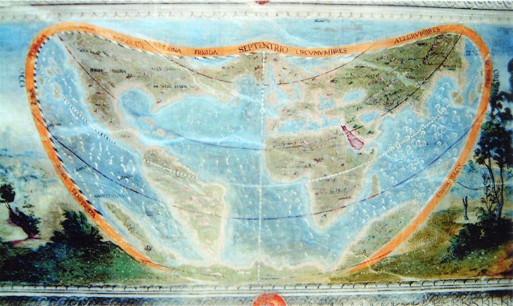 Planisfero vopelliano 1576