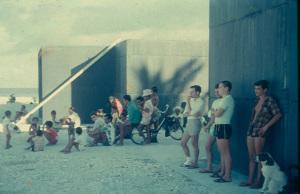 1 avant entrée blockhaus 1966