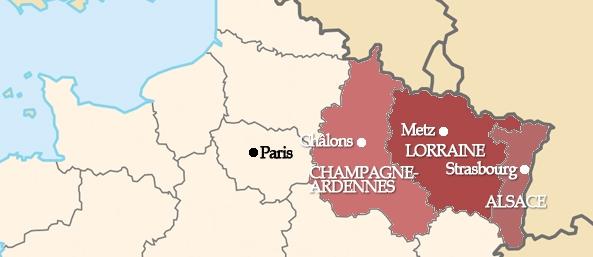 Regioni Francia Cartina.La Francia Passa Da 22 Regioni A 13 Macroregioni Una Minaccia Per Bretoni E Alsaziani Etnie