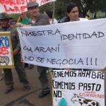 In Argentina, i guaranì protestano contro l'acquisto delle terre coltivabili da parte di investitori stranieri