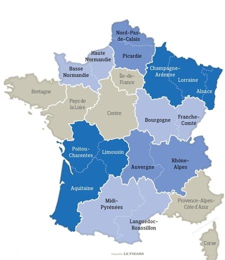 La Francia Passa Da 22 Regioni A 13 Macroregioni Una Minaccia Per
