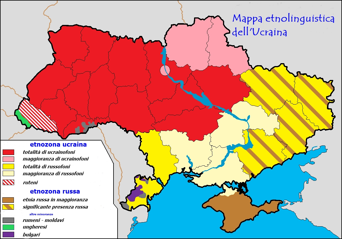 Cartina Muta Ucraina.In Viaggio Verso L Ucraina In Guerra Terza Puntata Etnie