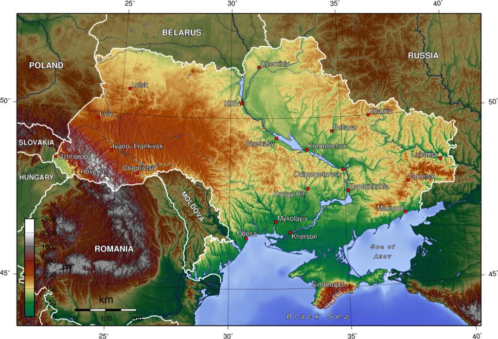 topografica-Ucraina