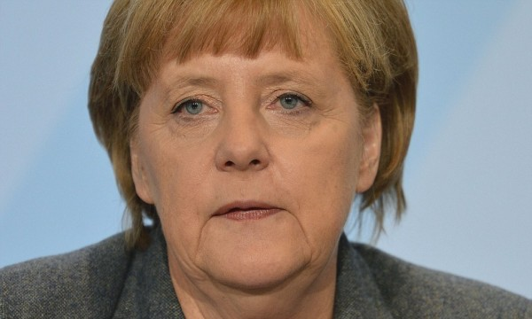 German Chancellor Angela Merkel reacts during the meeting with all German regional leaders for talks on new energy policies on November 02, 2012 at the Chancellery in Berlin, Germany. AFP PHOTO / ODD ANDERSENODD ANDERSEN/AFP/Getty Images