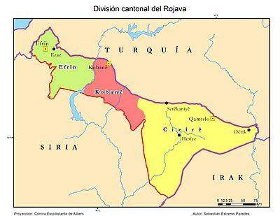 Cantones del Rojava