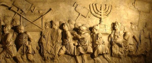arabi ed ebrei odio - Arco-di-Tito-Menorah-evid