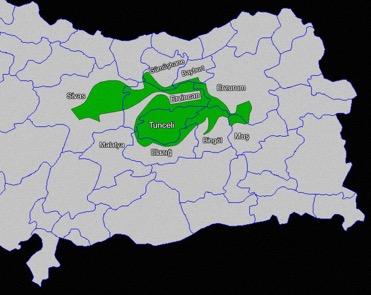 Dersim - confini