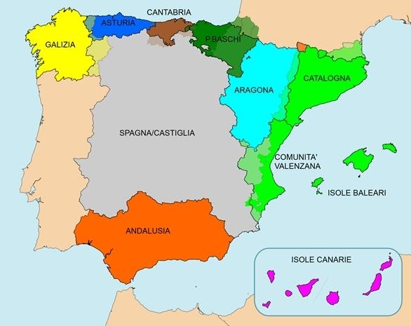 catalogna indipendenza difficile - Comunità-Spagna