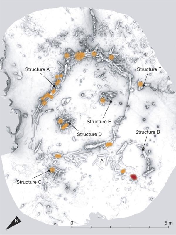 bruniquel neandertaliani - mappa1
