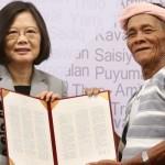 Il governo taiwanese si scusa con le minoranze indigene