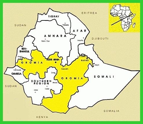 etiopia oromo protesta - oromia-ethiopia
