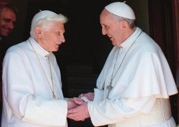 politica vaticana islam - bergoglio-ratzinger