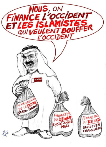 francia islamizzata collasso - qatar-ri7