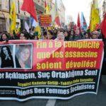 Attaccata a Francoforte la marcia dei giovani curdi per Ocalan
