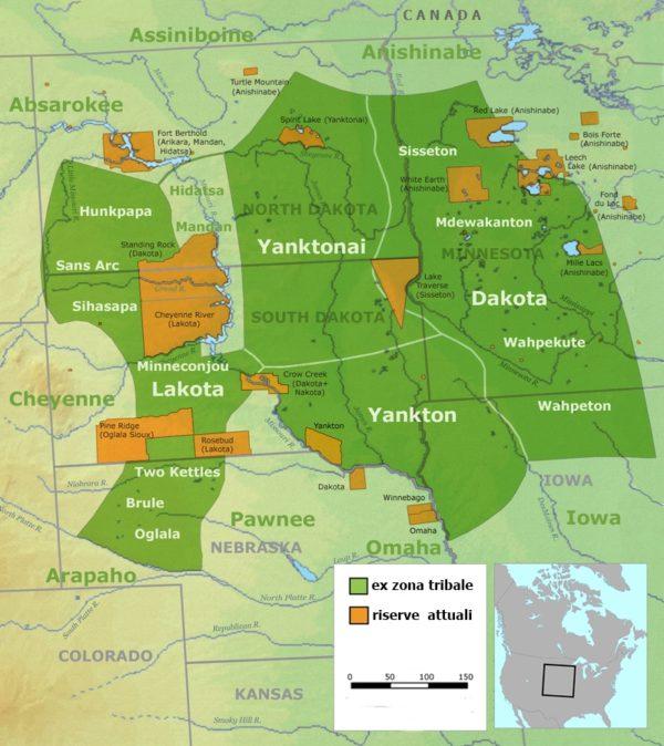 lakota standing rock - Riserve-Sioux