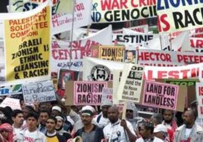conflitto israelo-palestinese strategia - durban