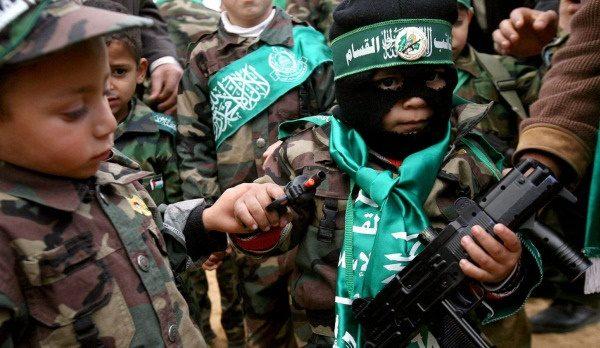 conflitto israelo-palestinese strategia - hamas-bimbi
