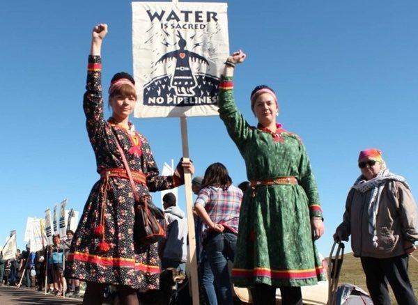 lakota standing rock - proteste