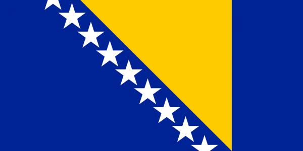 bosnia erzegovina guerra storia - bandiera