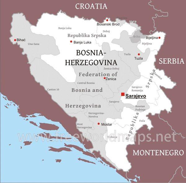 bosnia erzegovina guerra storia - repubbliche