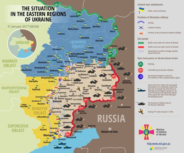Avdiivka - Situation-in-Donbas