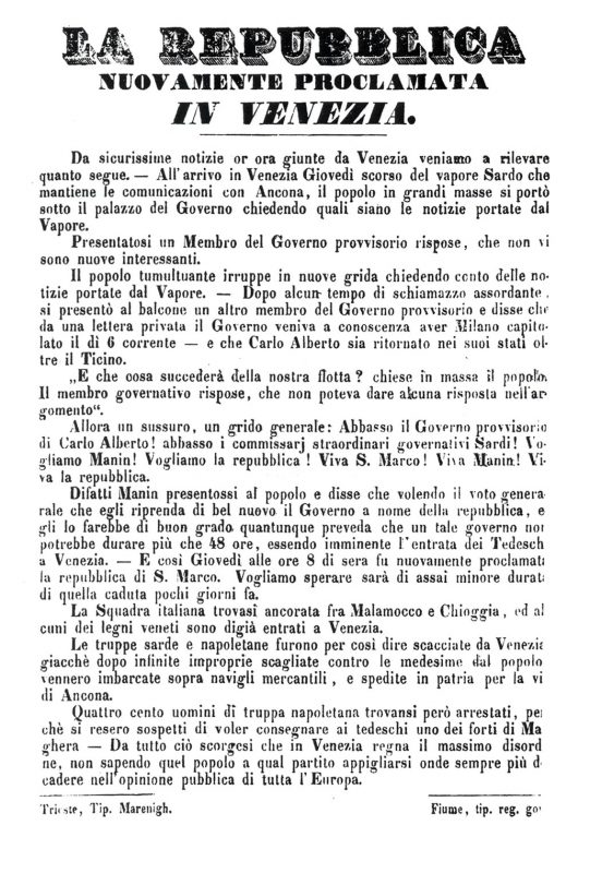 repubblica veneta 1948