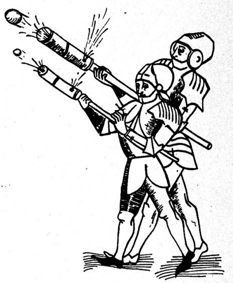 armi da fuoco antiche - 3 - cannoni-a-mano