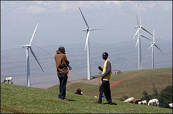 africa orientale energia - wind-farm-Lake-Turkana-Kenya.