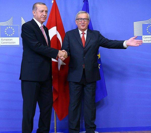 europa milioni immigrati - erdogan-e-juncker