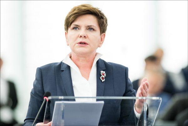 paesi est europa migranti - Beata Szydło