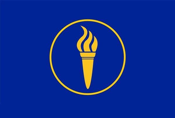 repubblica di minerva - Minerva-bandiera