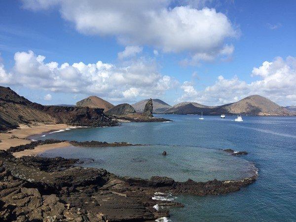 galapagos isole - Panorama-Bartolomè
