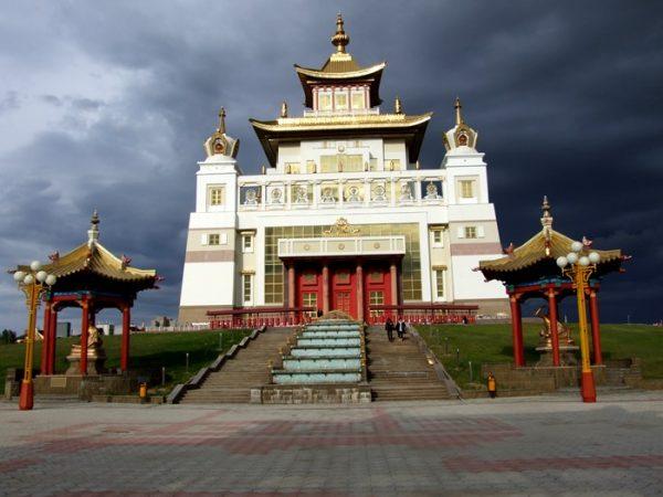 calmucchi - Elista-tempio-d'oro