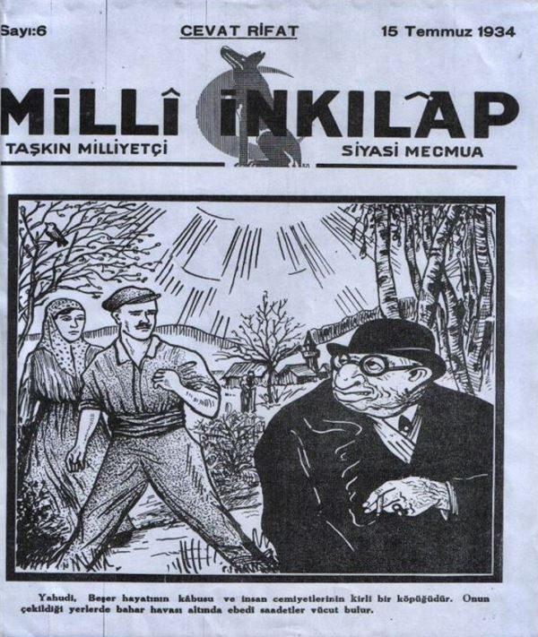 ebrei di turchia - Milli-Inkilap