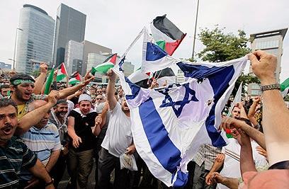 ebrei di turchia - protesta-antisraele