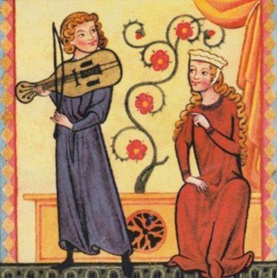 questione provenzale occitania - troubadour