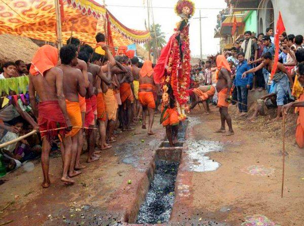 danda yatra orissa - Danda Kali Puja Odisha