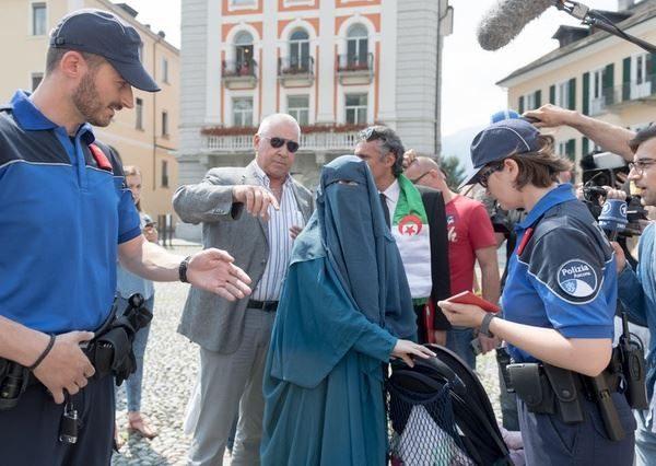 svizzera sondaggio burqa - Nora-Illi-Locarno