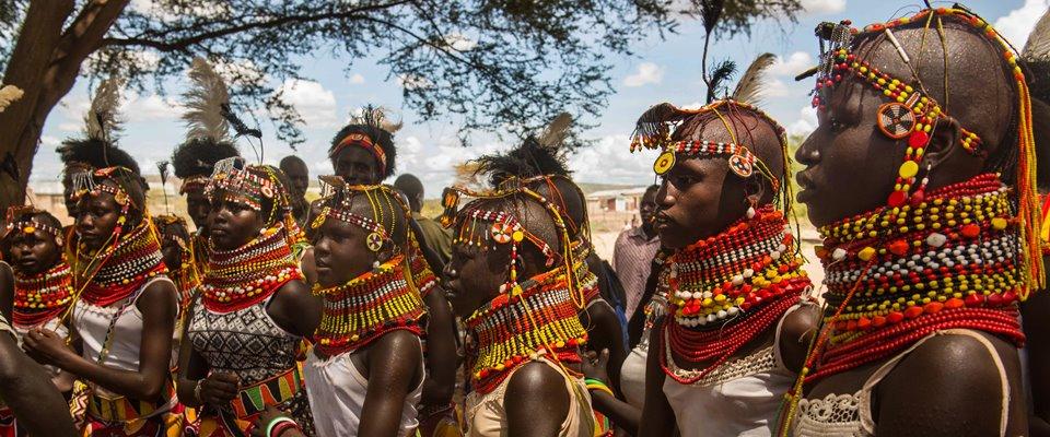Il festival delle etnie attorno al Lago Turkana
