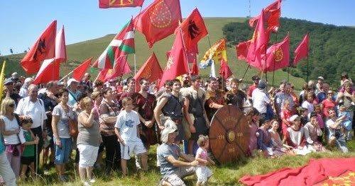 battaglia di roncisvalle baschi