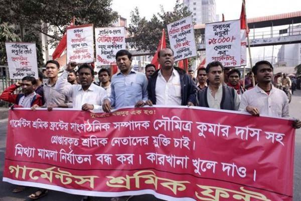scioperi in bangladesh