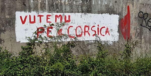 corsica indipendenza difesa del territorio