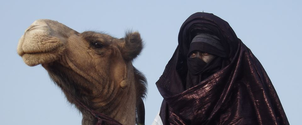 Tuareg in festa nel deserto dell'Air