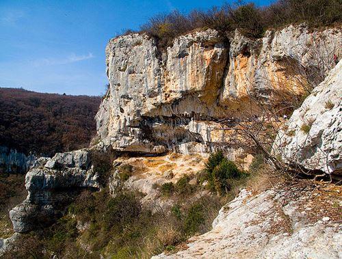 lumignano arrampicata habitat